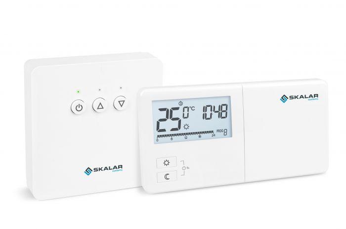 Regulator temperatury SKALAR R25RT tygodniowy bezprzewodowy